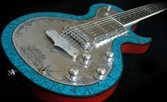 Exquisite handcrafted guitars that literally add art to music | Designbuzz : Design ideas and concepts