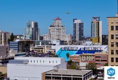 Airplane, city-life, urban, delivery, shipment, hustle-and-bustle, el-cortez, 6th-avenue, cortez-hill, sky-rises authentic stock photos from the millions of real-world images at Twenty20.