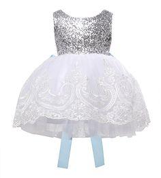 Bowknot Floral Lace Dress