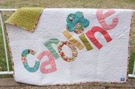 Cute as Can Be Personalized Baby Blanket by DustyRoseCreations, $25.00