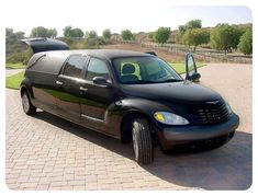 PT Cruiser hearse. Interesting hearse ideas - Friends of the Professional Car Society - Official Website of the Professional Car Society, Inc.