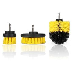 Power Scrubber Brush Set for Bathroom Car Tub Cleaner, Brush Cleaner, Fiberglass Shower Enclosures, How To Clean Bbq, Stone Bathtub, Bathtub Tile, Drill Brush, Professional Cleaners, Drill Set