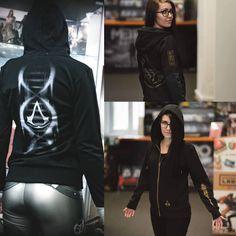 Assassins Creed Harry Potter assassins creed hry, oblečenie a predmety Assassins Creed, Sweatshirts, Sweaters, Fashion, Moda, Fashion Styles, Trainers, Sweater, Sweatshirt