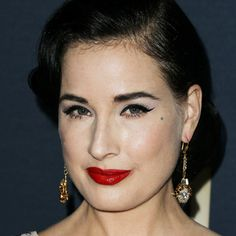 Dita von Teese on Her New M.A.C Lipstick and 'Natural' Makeup
