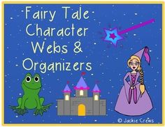 Free for a limited time. If you are interested in teaching fairy tales, but do not want to invest in big fairy tale bundles, this product might be right for you. Here are ten graphic organizers and a favorite fairy tale writing page, too. These organizers really help students recall story details, think creatively, and be able to analyze text.