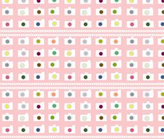 Camera Reels-cotton candy fabric by drapestudio on Spoonflower - custom fabric