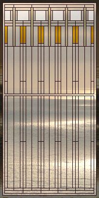 Craftsman windows on pinterest frank lloyd wright arts for Anderson art glass