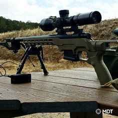 The MDT LSS-XL allows you to convert your bolt action rifle to a highly versatile rifle allowing you to adjust the ergonomics with the use of buttstocks and grips, and at the same time converting it to an external box magazine fed rifle. Boy Toys, Toys For Boys, Shotguns, Firearms, Sniper Rifles, Tools And Toys, Long Rifle, Bolt Action Rifle, Shooting Gear