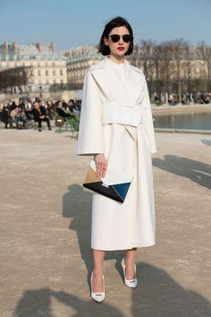 white coat // white belt