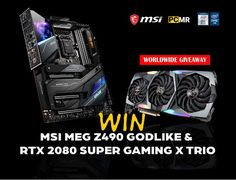 PCMR and MSI Giveaway