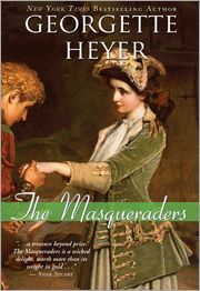 Regency Turns 80 — The Masqueraders -- An aging master con man, his cross-dressing offspring and their respective loves make for a wild romp through Georgian London in The Masqueraders. Today, Emma Kaye, romance author, shares why this romance by Georgette Heyer is so special to her and why she finds it such a timeless story.