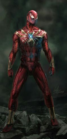 Realistic Iron Spider-Man suit