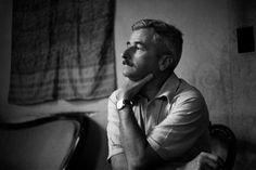 Henri Cartier-Bresson - US writer William FAULKNER at home. USA. Mississipi. Oxford. 1947.