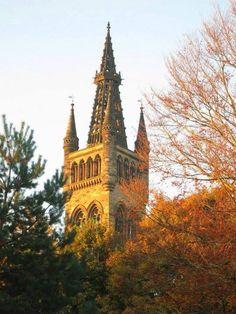 University of Glasgow - the uni tower