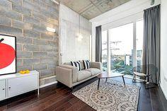 salas decoradas estilo industrial - Pesquisa Google