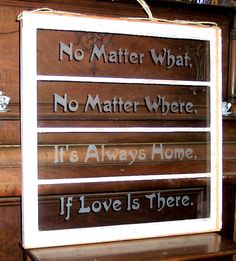 Window Love and Home