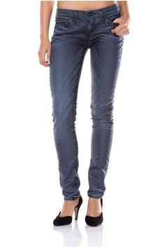 New Ladies Levis Bold Curve Low Skinny Leg Stretch Jeans Woman W26