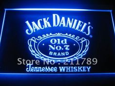 W2002 Jack Daniel's Tennessee Whiskey Neon Light Signs-in Bathroom Products from Home  Garden on Aliexpress.com $28.00