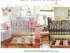 Crib Bedding Ideas - You Tube    http://youtu.be/QmMO3C3p3po