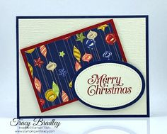 Handmade card featuring Stampin' Up! Perfectly Plaid stamp set and Night Before Christmas Designer Series Paper! Diy Paper, Paper Crafts, Heartfelt Creations, Embossing Folder, Before Christmas, Die Cutting, Stamping, Card Stock, Craft Supplies