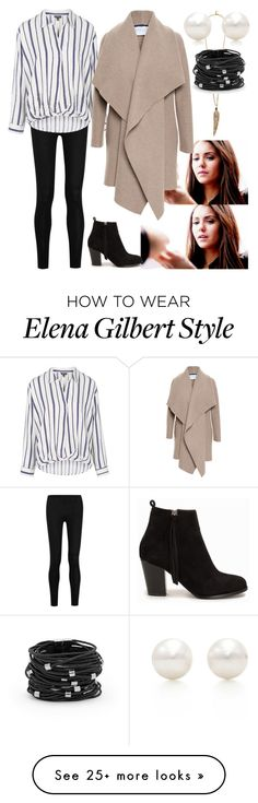 """""""Untitled #629"""" by nadapierce on Polyvore featuring Roberto Cavalli, Donna Karan, Topshop, Nly Shoes, Harris Wharf London, Tiffany & Co. and Chico's"""