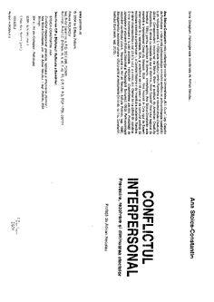 Stoica-constantin-Ana-Conflictul-Interpersonal.pdf | Ligia Bratu - Academia.edu