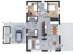 Konsmohus-K3-plan Floor Plans, How To Plan, Floor Plan Drawing, House Floor Plans
