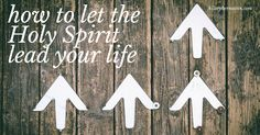 If you're a Christian, it's essential that you know how to let the Holy Spirit lead your life.