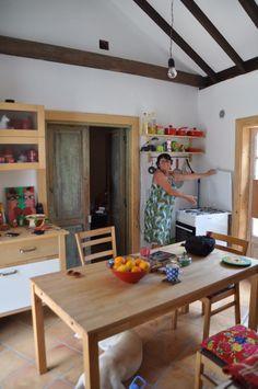 Küche im Haupthaus der Casa Pecosa