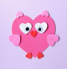 Craft dulce de San Valentín: Hacer Animales de formas de corazón | CBC padres #valentinescrafts