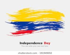Flag of Colombia Colombian Culture, Colombia Flag, Empanada, Independence Day, Tattoo Ideas, Writing, Tattoos, Sentences, Creative Art