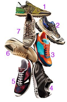 Running Shoes Hit the Runway