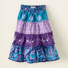 tiered skirt b would love something like this if you could make it for her bday