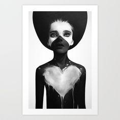 Hold On Art Print by Ruben Ireland - $18.00