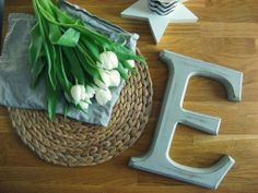 Sisters About: KONKURS z Sisters About !! Wooden letter