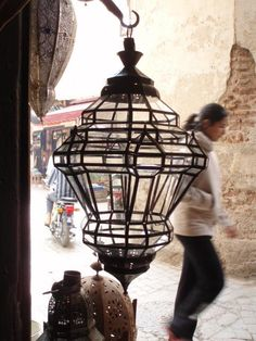 """ll handmade in Marrakesh. All clear glass. 29"""" h x 13""""  370 USD much more reasonable although not quite the shape"""