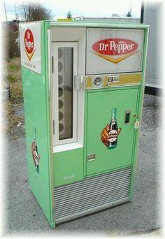 50's Dr Pepper machine