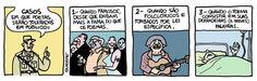 """Chico Buarque: """"Não sei onde estaria Vinicius de Moraes hoje em dia."""". Ditadura, tira de Laerte.  http://brontops.blogspot.com.br/2009/12/telegrama_12.html"""