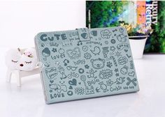 For Apple Ipad Mini PU Leather Case Cover Powder Blue Graffiti Pattern Folio Ipad Mini Skin Protector Case Cover Wallet Stand Folding by ddmygoal. $10.99. he high-quality light weight leather cases that provide all-round protection and a firm grip to your device. With easy access openings, all of your ipad features and ports are fully accessible. The leather flip cover cases are custom made to fit your ipad perfectly. The Leather case features a play-through design...