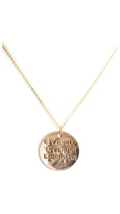 Live Well Necklace