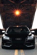 Audi S5 black on black