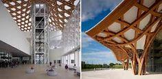 Resultado de imagen para arquitecto shigeru ban Shigeru Ban, Louvre, Building, Travel, Architects, Viajes, Buildings, Trips, Construction