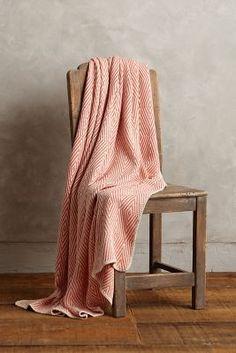 Woven Cotton Throw #Anthropologie