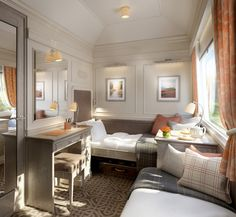 Belmond Grand Hibernian, first luxury touring train in Ireland, to be launched in Ireland expects to inaugurate its first luxury train Places To Travel, Places To Go, Ireland Destinations, Simplon Orient Express, Trains, Photos Voyages, Train Journey, By Train, Ireland Travel