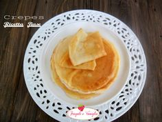 Crepes ricetta base Crepes, Ethnic Recipes, Food, Hoods, Meals, Pancakes
