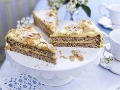 Schwedische Mandeltorte Rezept - Chefkoch-Rezepte auf http://LECKER.de | Kochen, Backen und schnelle Gerichte