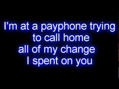 Maroon 5 - Payphone ft. Wiz Khalifa LYRICS