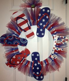 284 Best Create Flip Flop Wreaths Images In 2016 Flip