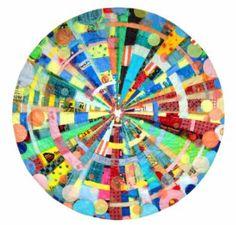 "Saatchi Art Artist Virginia Fleck; Collage, ""Buymore Mandala"" #art"