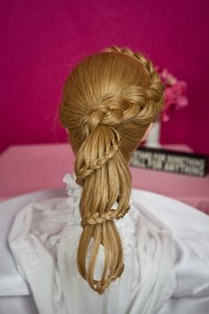 Staircase Ponytail Hairstyle